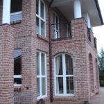 Fenster Neubau Kunsttofffenster Segmentbogen Zweiflüglig Sprossen Westerrönfeld (5)