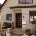 Holz-Aluminium Fenster blaue Aluminiumschale Erle-Massiv klar lackiert (1)