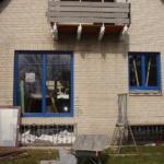 Holz-Aluminium Fenster blaue Aluminiumschale Erle-Massiv klar lackiert (2)