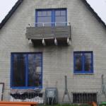 Holz-Aluminium Fenster blaue Aluminiumschale Erle-Massiv klar lackiert (6)
