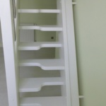 Holztreppe und Holzgeländer offene Stufen versetzte Stufen steil Tischlerei Mohr Treppenbau (1)