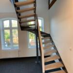 Individualtreppe Metall und Holz offen Tischlerei Mohr Rendsburg-Büdelsdorf
