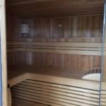 Sauna Dachterrasse anthrazit Außensauna Schweißbahnen Flachdach (9)