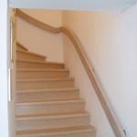Treppe holz geschlossene Stufen Tischlerei Mohr Büdelsdorf-Rendsburg (9)