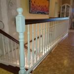 braun weiß Treppe Holz Treppenbau Rendsburg Tischler (6)