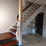braun weiß Treppe Holz Treppenbau Rendsburg Tischler (8)